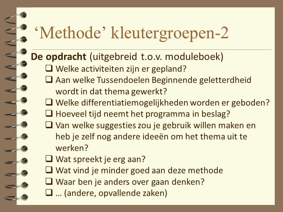 'Methode' kleutergroepen-2