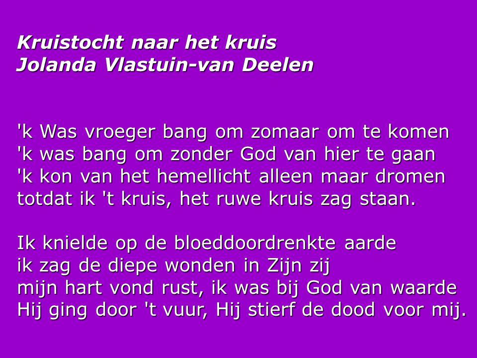 Kruistocht naar het kruis Jolanda Vlastuin-van Deelen