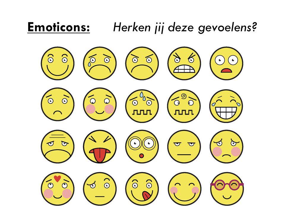 Emoticons: Herken jij deze gevoelens