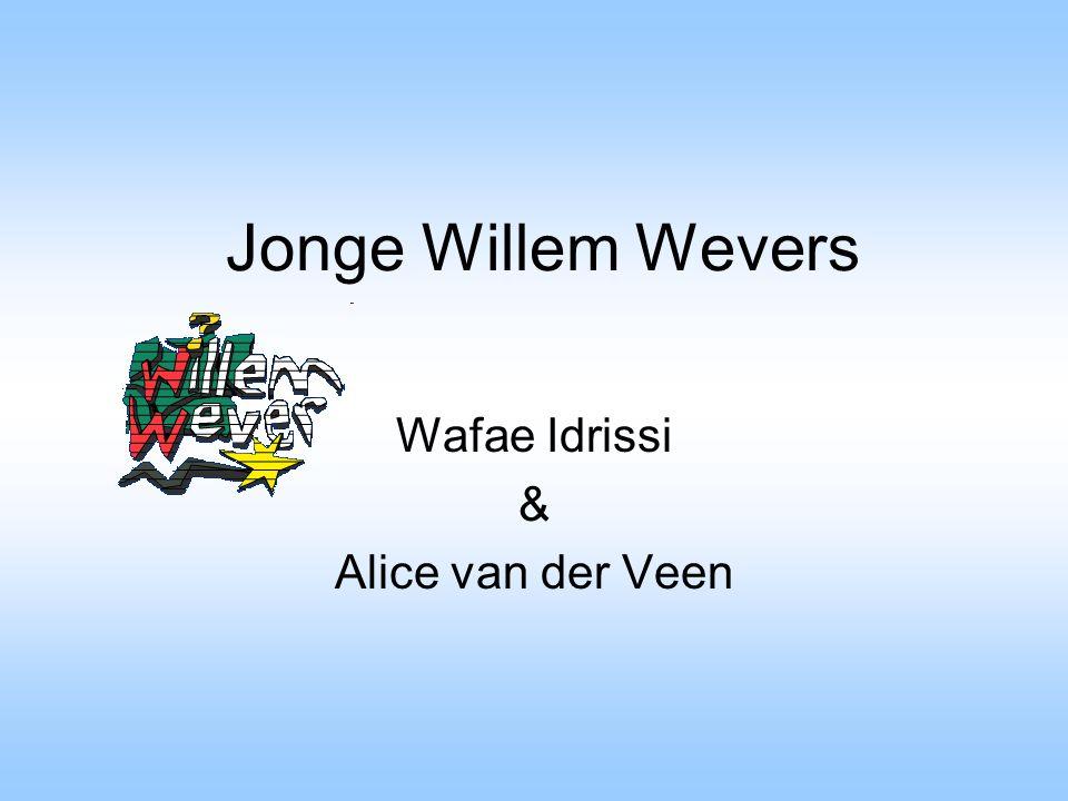 Wafae Idrissi & Alice van der Veen