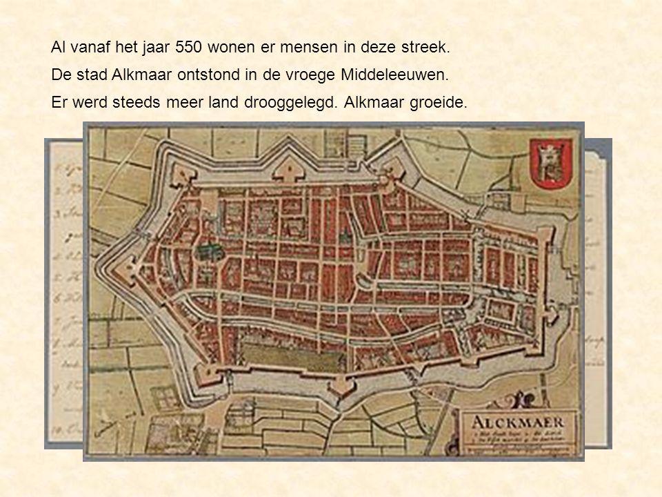 Al vanaf het jaar 550 wonen er mensen in deze streek.