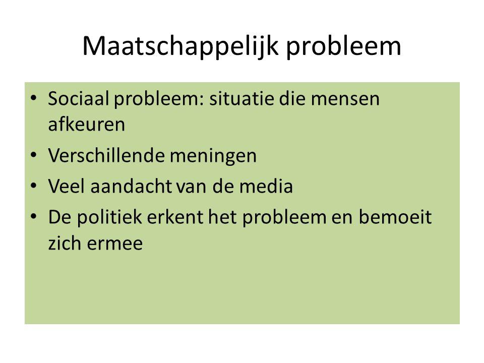 Maatschappelijk probleem