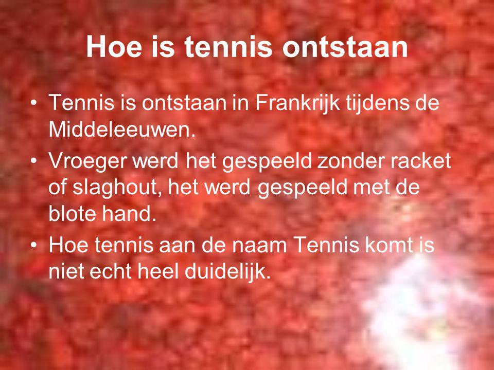 Hoe is tennis ontstaan Tennis is ontstaan in Frankrijk tijdens de Middeleeuwen.