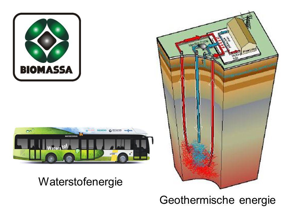 Waterstofenergie Geothermische energie