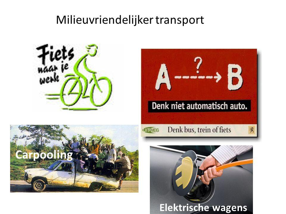 Milieuvriendelijker transport