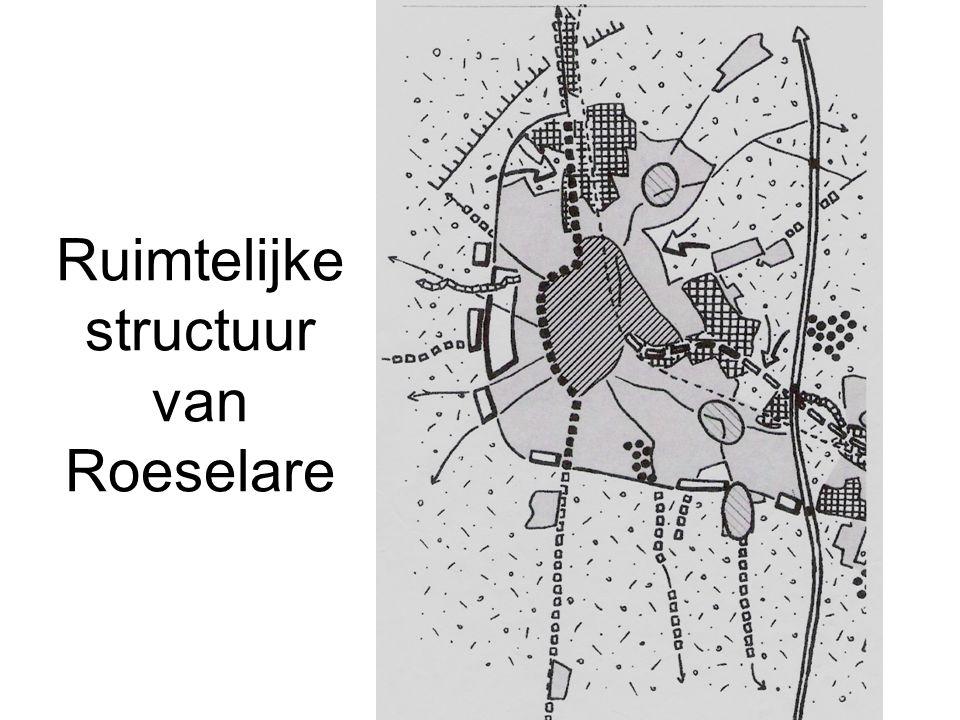 Ruimtelijke structuur van Roeselare
