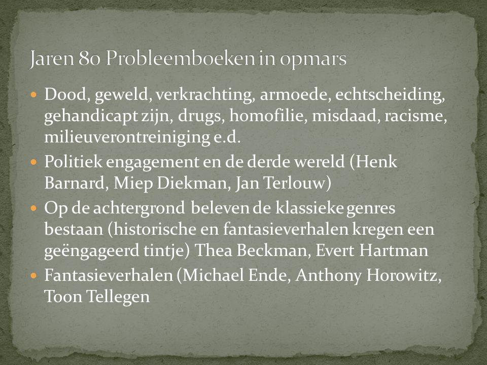 Jaren 80 Probleemboeken in opmars