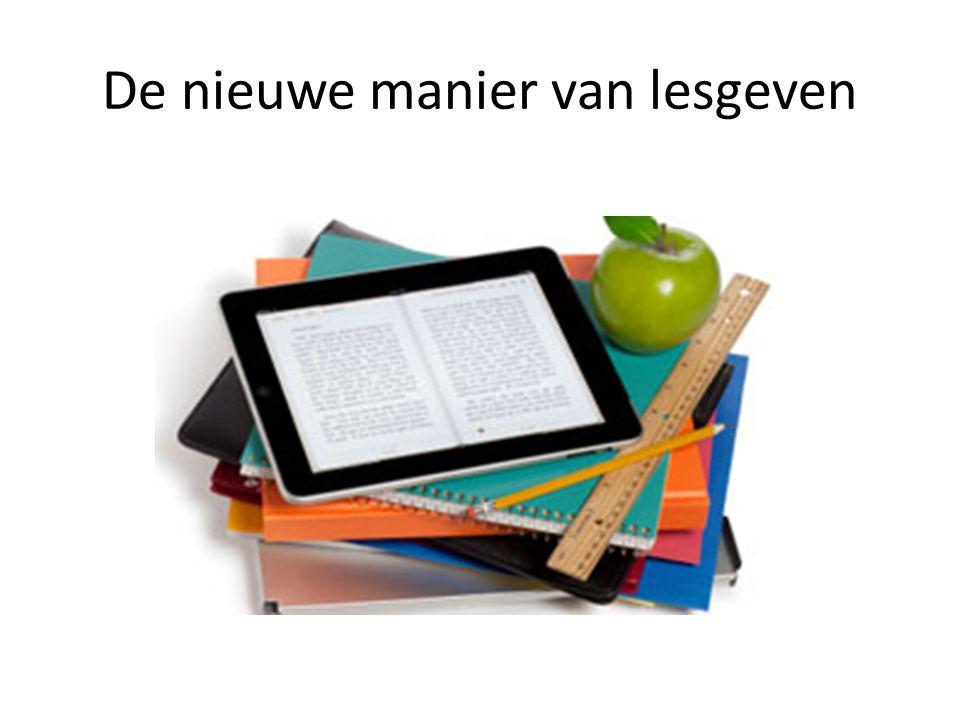 De nieuwe manier van lesgeven