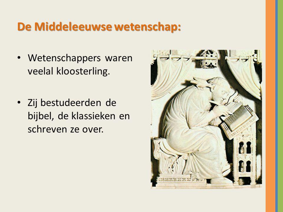 De Middeleeuwse wetenschap: