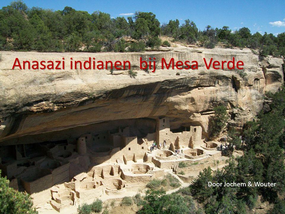 Anasazi indianen bij Mesa Verde