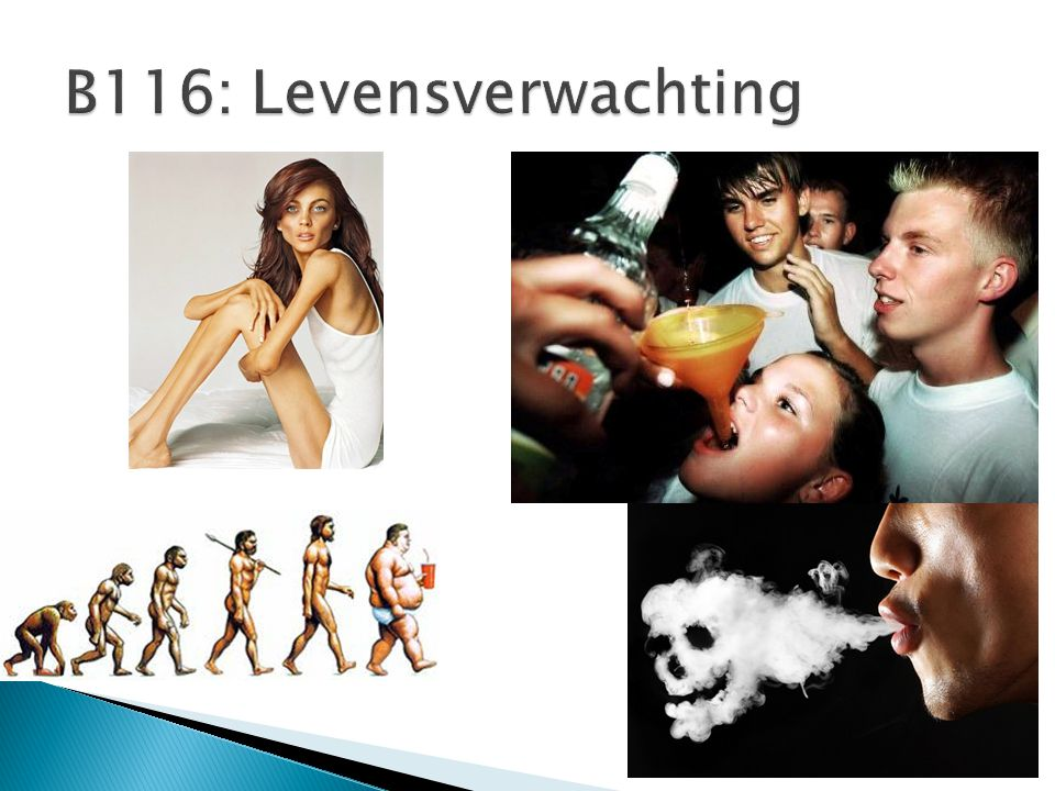 B116: Levensverwachting