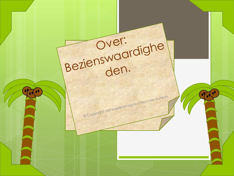 © Copyright niet kopiëren op rechten van auteurs.