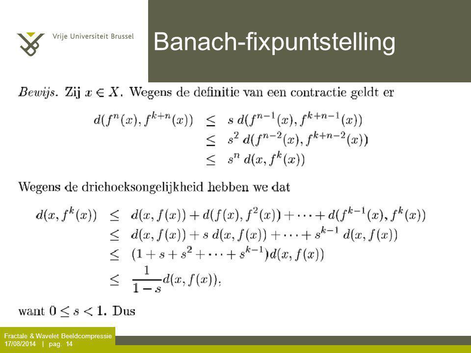 Banach-fixpuntstelling