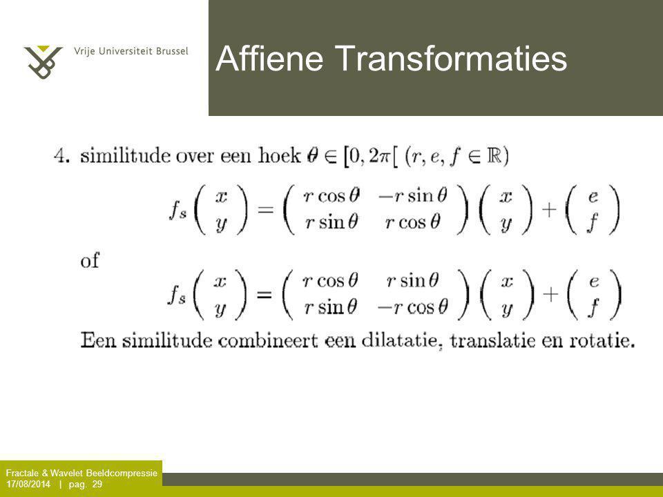 Affiene Transformaties