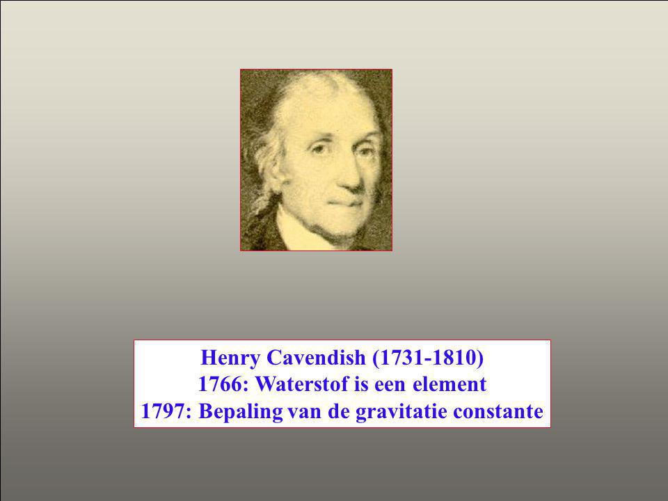 1766: Waterstof is een element