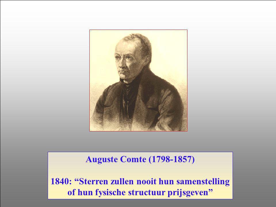 1840: Sterren zullen nooit hun samenstelling