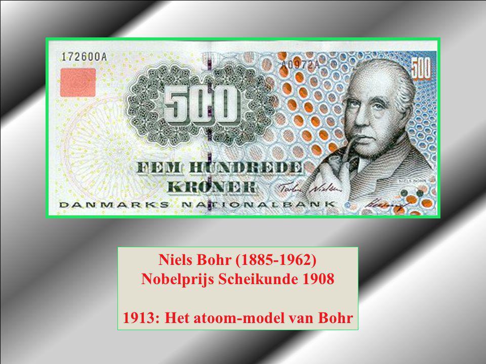 Nobelprijs Scheikunde 1908 1913: Het atoom-model van Bohr