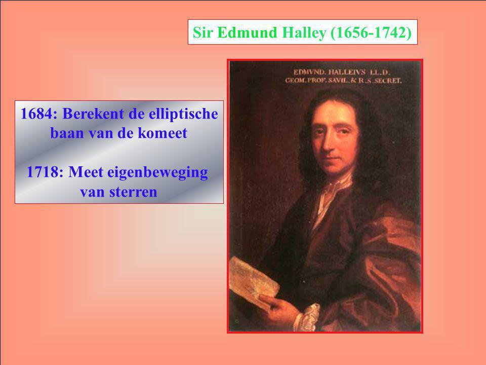 1684: Berekent de elliptische