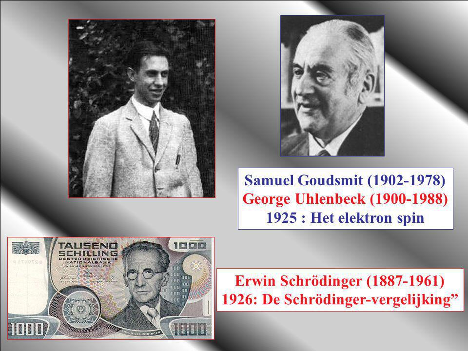 1926: De Schrödinger-vergelijking