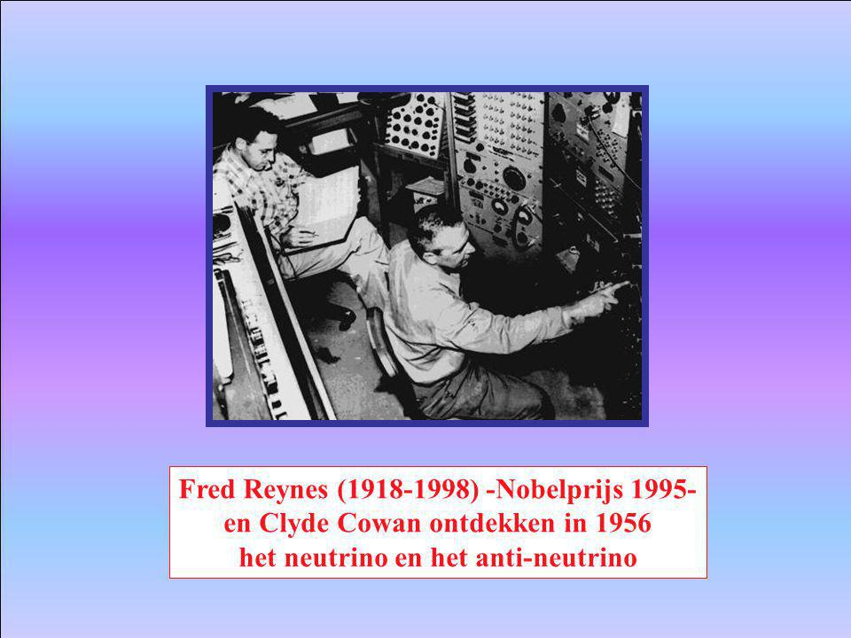 Fred Reynes (1918-1998) -Nobelprijs 1995-