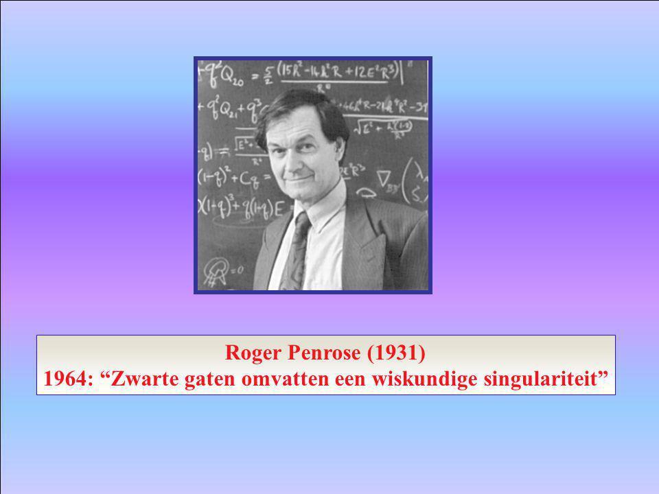 1964: Zwarte gaten omvatten een wiskundige singulariteit