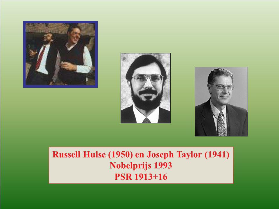 Russell Hulse (1950) en Joseph Taylor (1941)