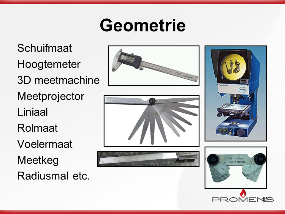 Geometrie Schuifmaat Hoogtemeter 3D meetmachine Meetprojector Liniaal