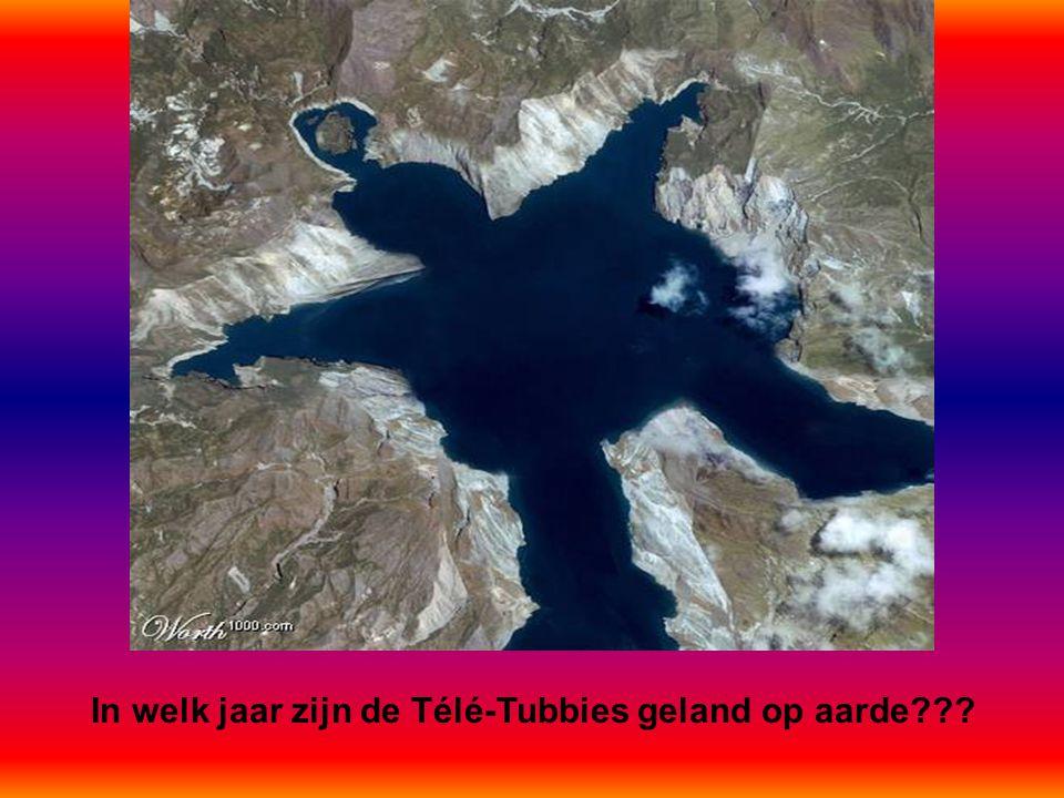 In welk jaar zijn de Télé-Tubbies geland op aarde