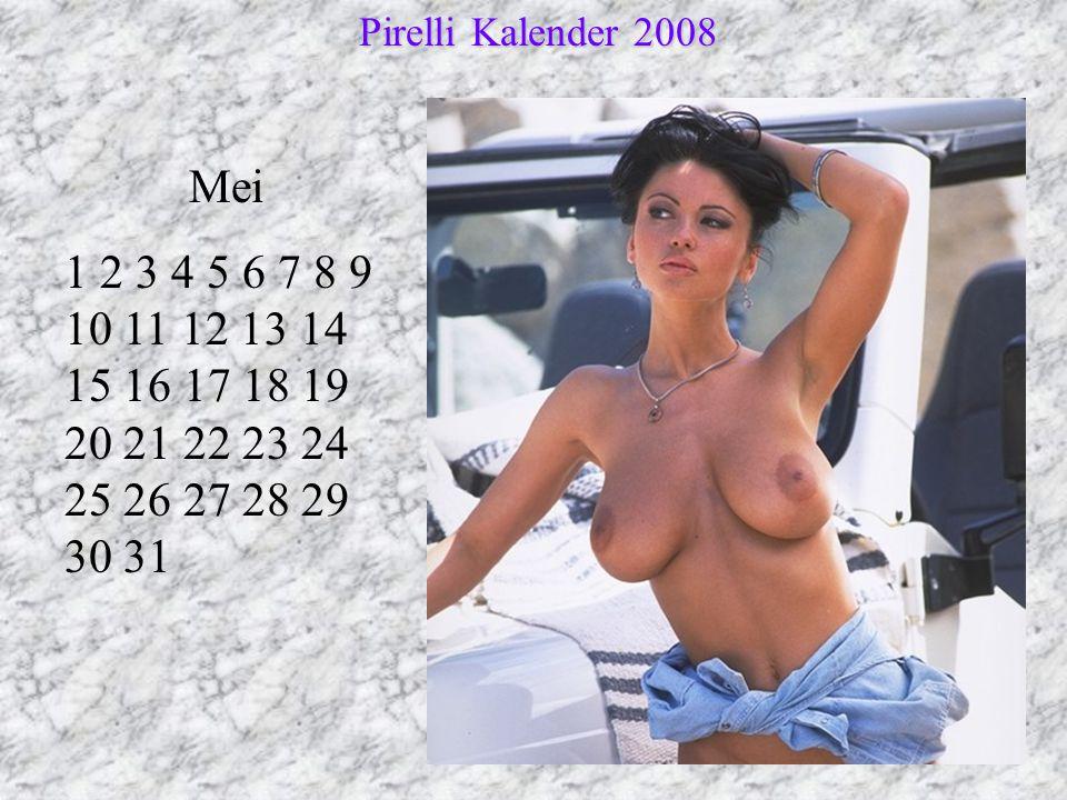 Pirelli Kalender 2008 Mei.