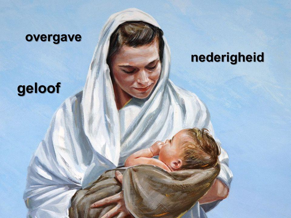 overgave nederigheid geloof