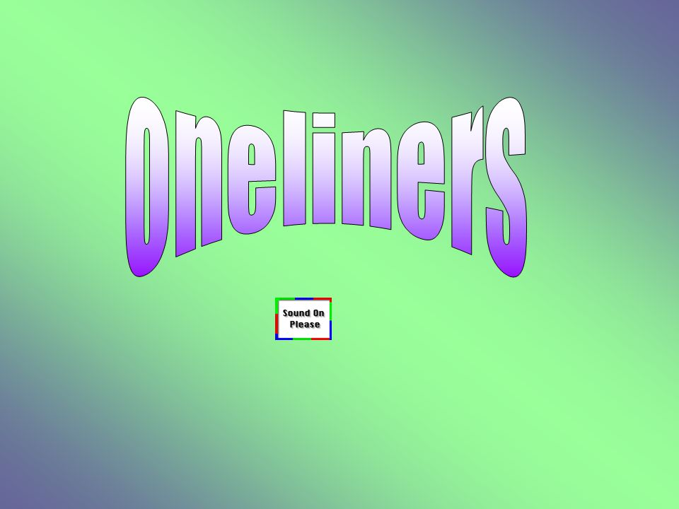 oneliners