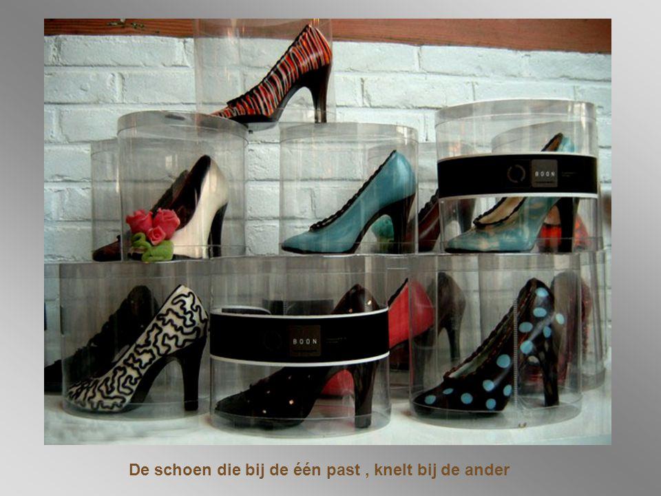 De schoen die bij de één past , knelt bij de ander