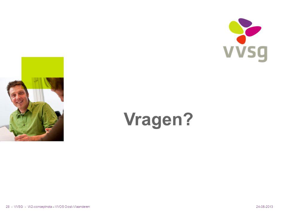 Vragen W2-conceptnota – VVOS Oost-Vlaanderen 24-05-2013