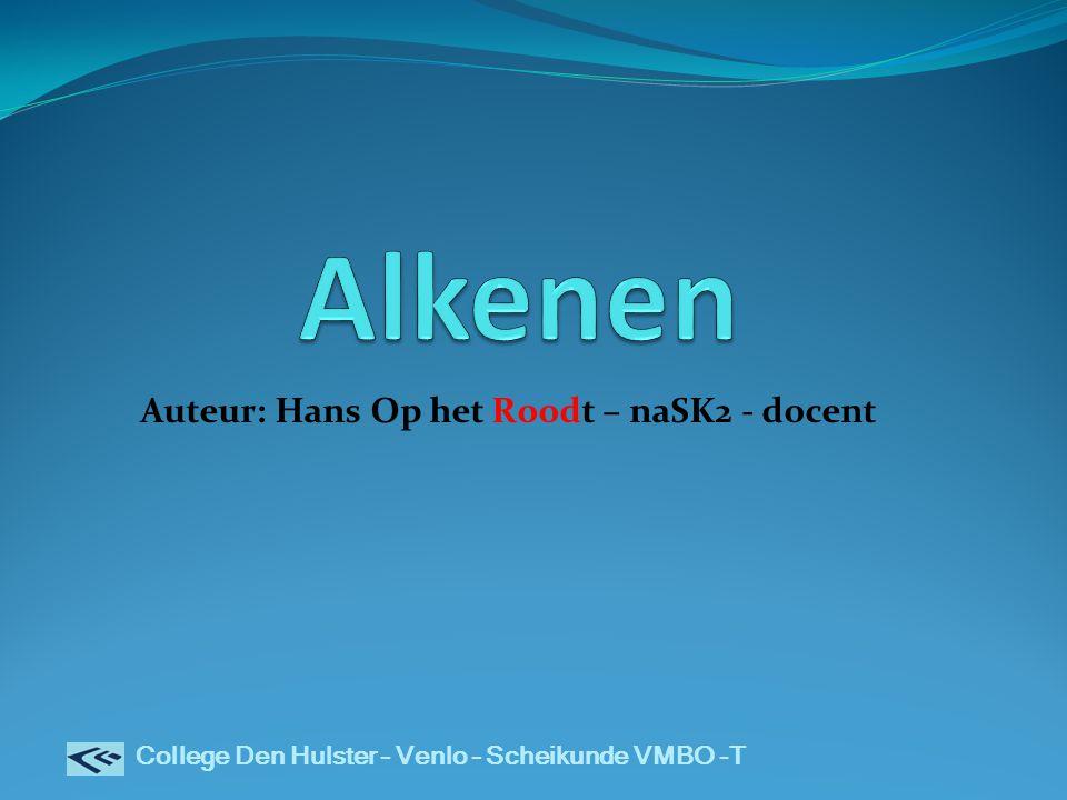 Auteur: Hans Op het Roodt – naSK2 - docent