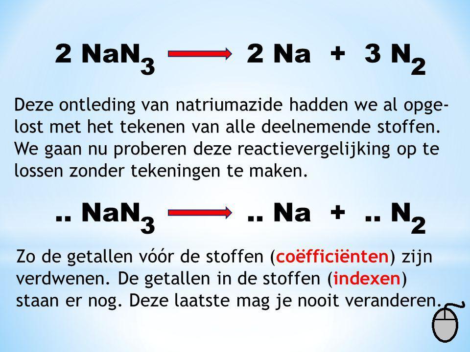2 NaN 2 Na + 3 N 3. 2.