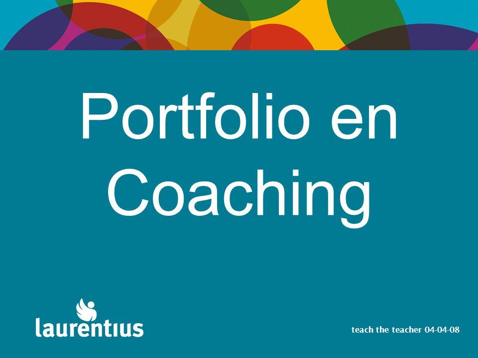 Portfolio en Coaching Welkom en dank voor de uitnodiging