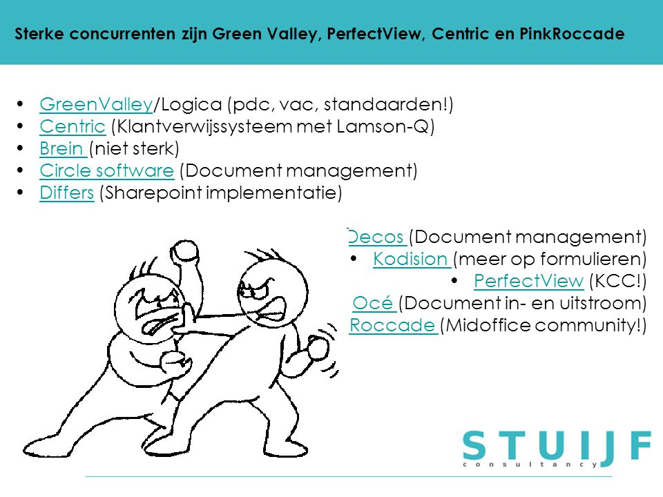 GreenValley/Logica (pdc, vac, standaarden!)