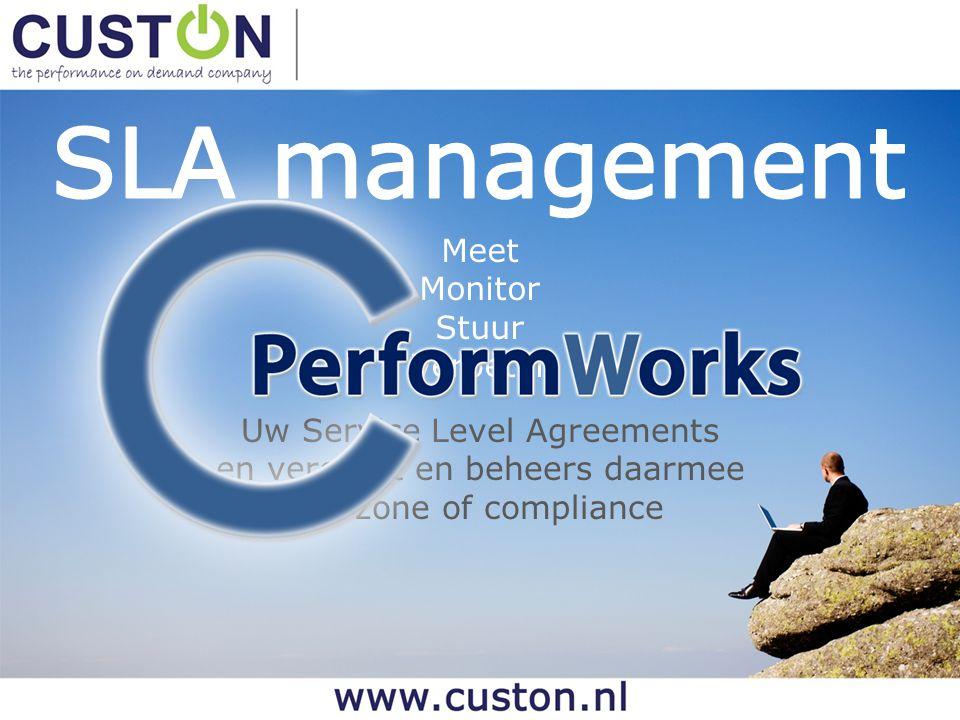 SLA management Meet Monitor Stuur Verbeter