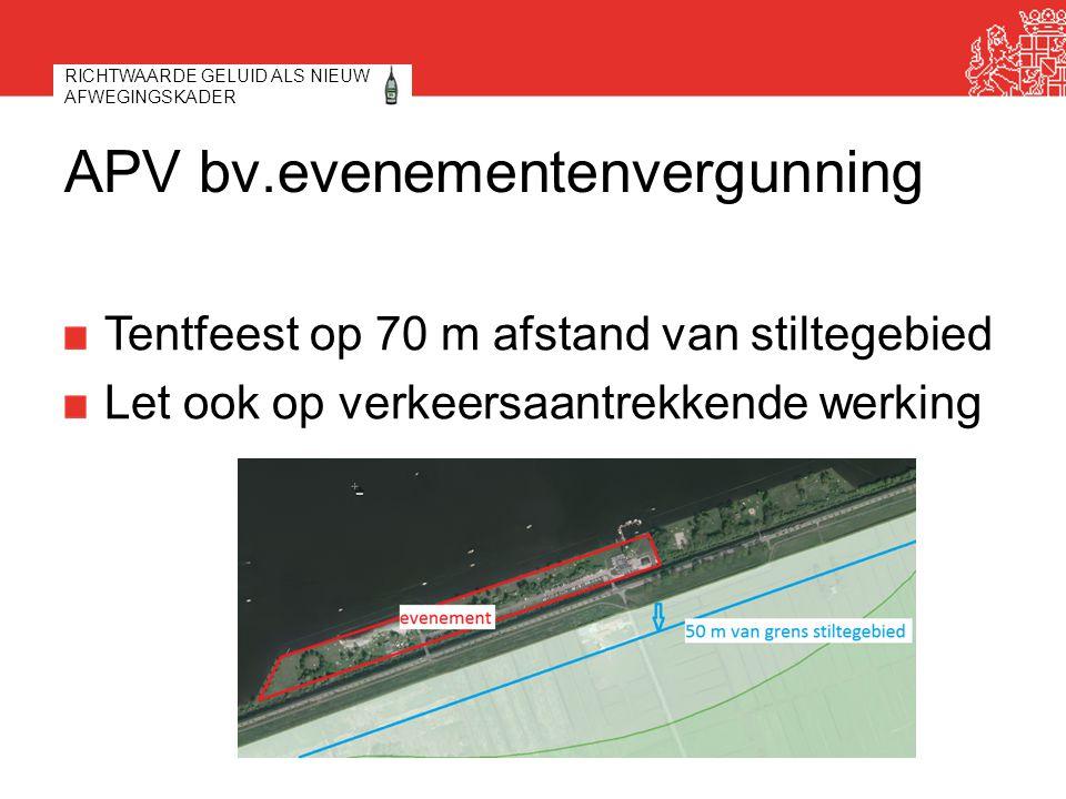 APV bv.evenementenvergunning