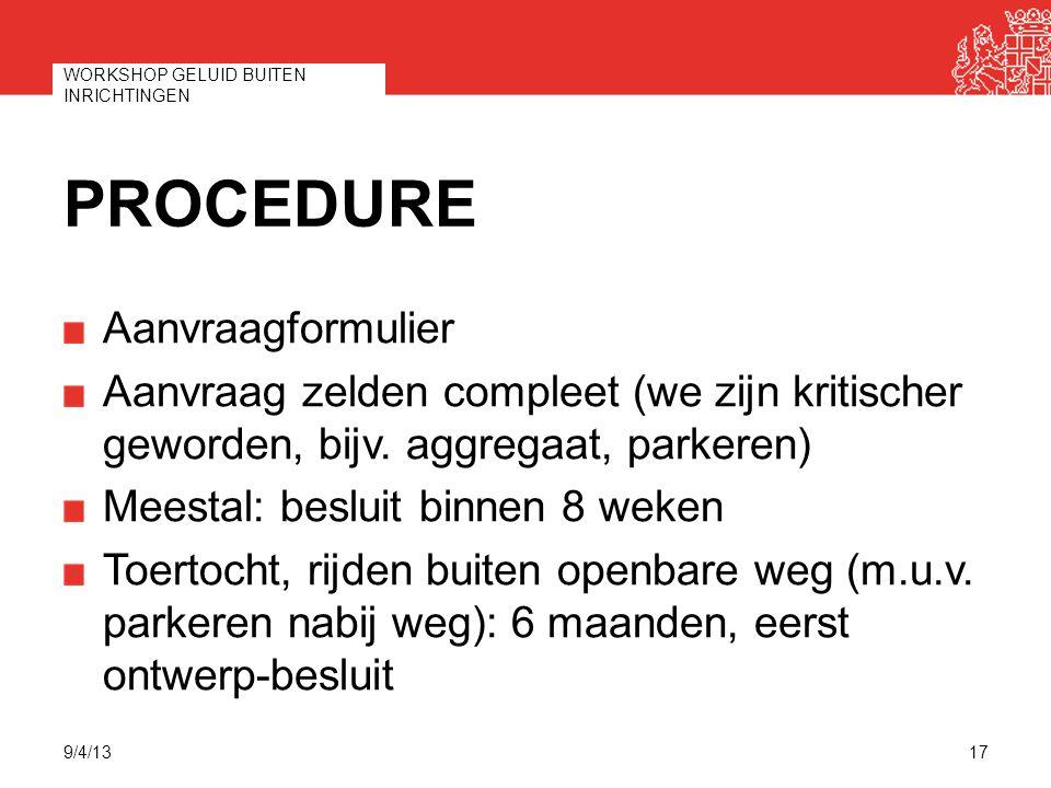 Procedure Aanvraagformulier