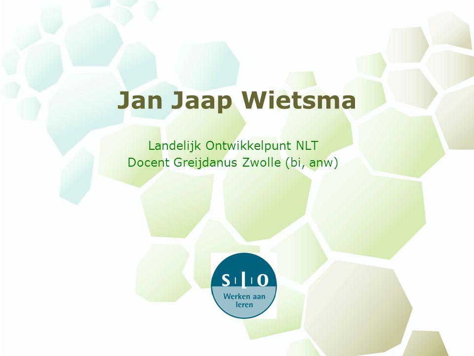 Landelijk Ontwikkelpunt NLT Docent Greijdanus Zwolle (bi, anw)