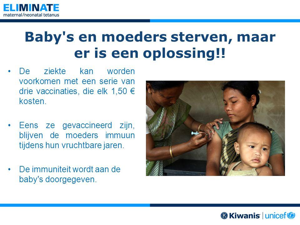 Baby s en moeders sterven, maar er is een oplossing!!