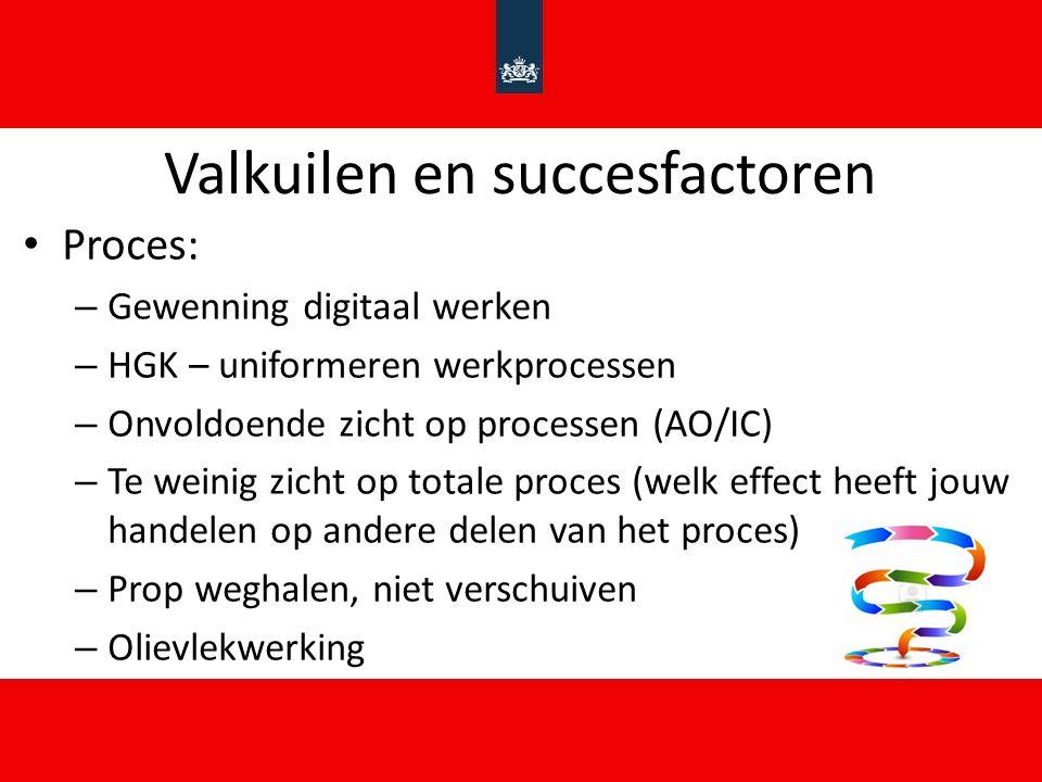 Valkuilen en succesfactoren