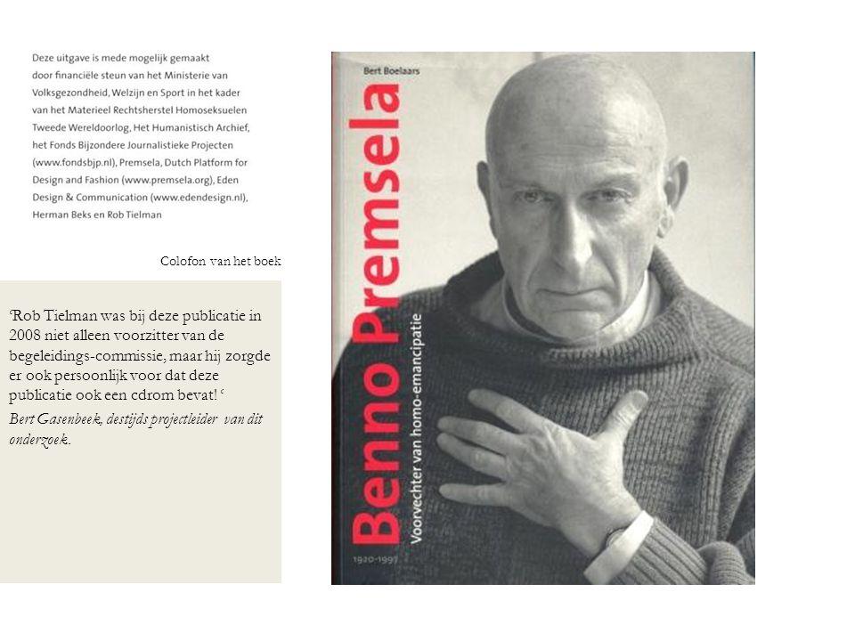 Bert Gasenbeek, destijds projectleider van dit onderzoek.