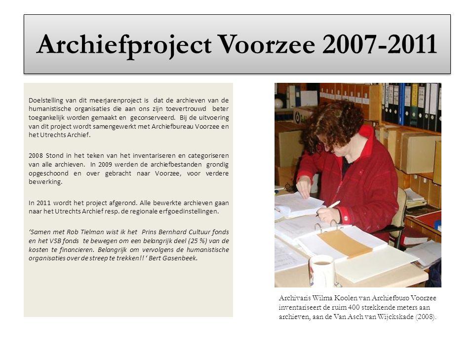 Archiefproject Voorzee 2007-2011