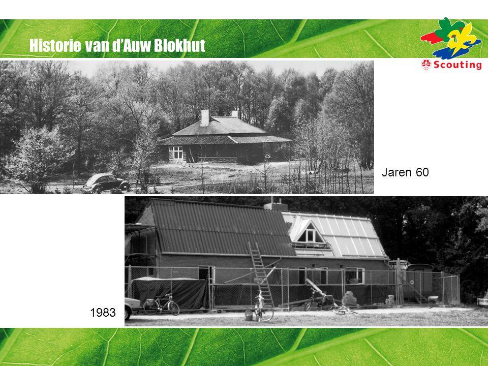 Historie van d'Auw Blokhut