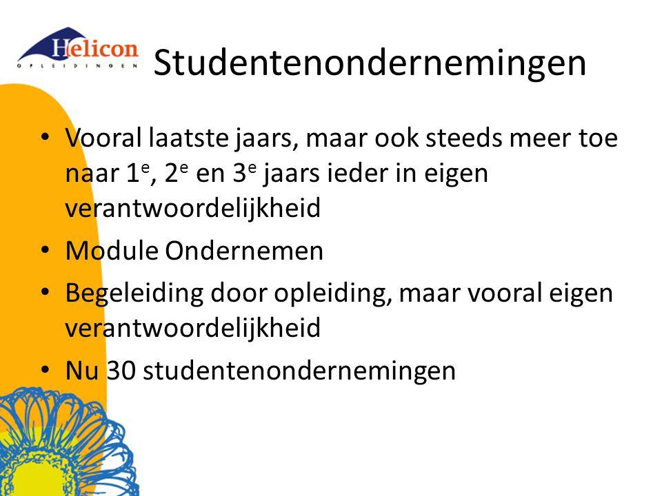 Studentenondernemingen