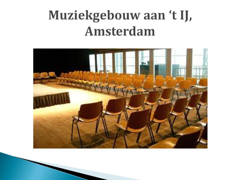 Muziekgebouw aan 't IJ, Amsterdam