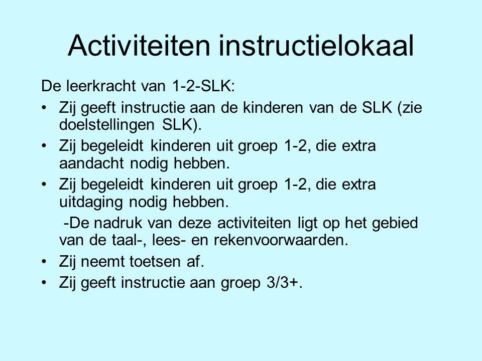 Activiteiten instructielokaal
