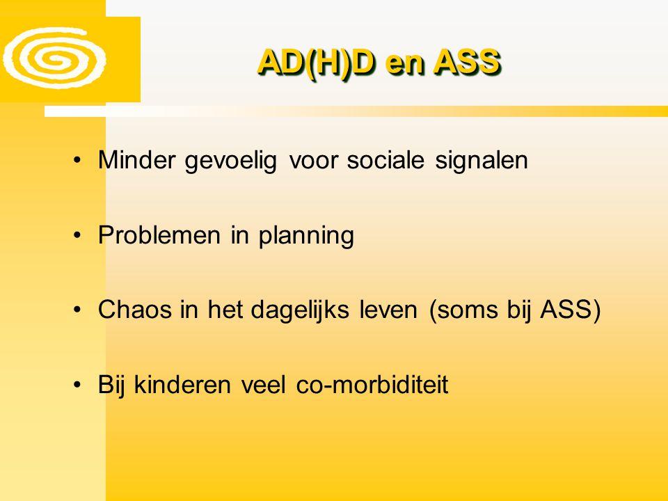 AD(H)D en ASS Minder gevoelig voor sociale signalen